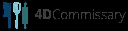 4D Commissary Logo