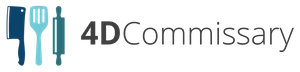 4D Commissary Logo